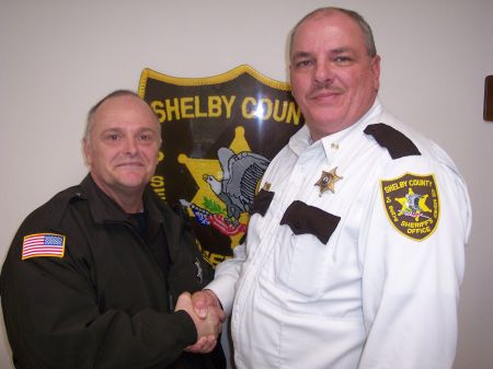 Shadwell with Sheriff Miller